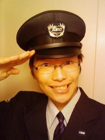 京王線の制服が支給される。帽子が驚異的に似合わな... 京王線の制服が支給される。帽子が驚異的に