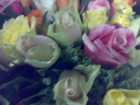 29歳だから29本のバラです。