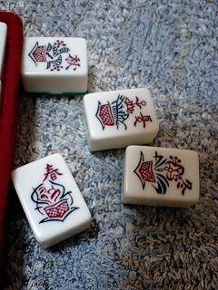 麻雀牌洗った。こんな牌があるなんて知らなかった