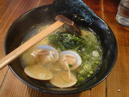 千葉のラーメン和屋で蛤塩食って落ち着いた。