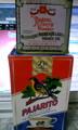 今日買ったパラグアイのマテ茶とインドのカレー粉がなかなか 可愛い