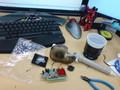 会社の机が汚すぎて片付ける気- -