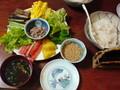朝食手 巻き寿司、鰻のキモ吸い