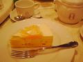 [ぐり][お茶]マンゴーのムースケーキとセイロンミルクティ ー