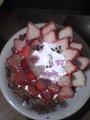 友達がつくった人面ケーキ