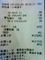 [uinuin]トマトとイチゴと納豆買って205円なんて、いい主婦になれんじゃね w