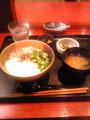 [kuma_ryu]今日の昼飯@マグロたたき丼