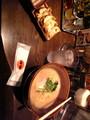 合間に光麺にて熟成&餃子。いよぉさんは冷し中華。