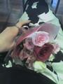 昼メシ抜いて花を買う。