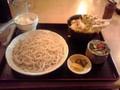 小樽市民会館のレストランで昼食