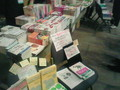 [rubykaigi2008]ジャンク堂書店の品揃えがすごいw そしてそれ以上に売れ行きがwww