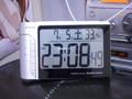因みに部屋の温度。酷暑酷暑!