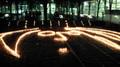 [xuxumu]これも蝋燭。多分ジョン・レノンミュージアムのマークに似せてる・・