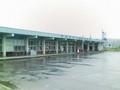 [yano3]上川駅の層雲峡の看板が撤去されてた。ボロボロだったからなぁ。
