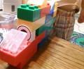 [sorano]甥っ子たちとブロックで遊んでる