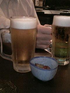 暑い日はビール