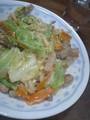 [yumeko]焼きうどん作ったー食べる食べる!