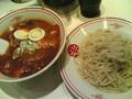 中本で冷やし蒙古タンメン食べてきた。