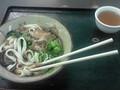 [一人旅ちぅ]熱田神社で食べてるきしめん