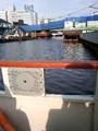 今から大阪城まで50分の船旅。