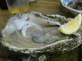 鳥羽で晩御飯、海産物づくし(´―`)一緒に頼んだ岩がきがでかすぎて