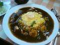 [Nekousa]お昼〜美味しかったけど量が多いです。。