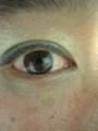 こんな感じ。目が充血してるけど