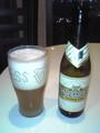 今夜の最初のビール
