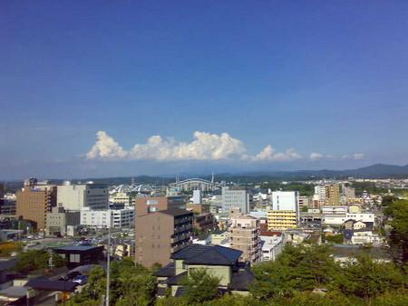 豊田市は良い天気です。