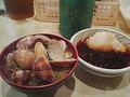 [ぐり][ごはん]大吉であさり汁と天ぷら!