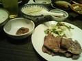 [popona][仙台][夕食][肉] 利休 ・一番町の牛タン定食