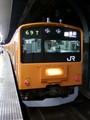 新幹線がどうにもならぬとの事で、とりあえず中央線各駅停車で帰宅の