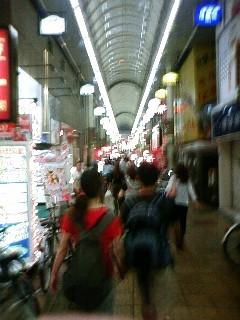 京橋から歩いて帰ることにしたらったらった。