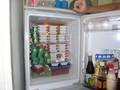 ただいまの職場の冷蔵庫の中。納豆60個、キム チが2キロ、ヨーグルト40