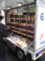 [corns]よく売りに来るパン屋。