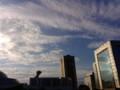 幕張にて。いい天気。キャラホビは出遅れたせいか地味な印象でした