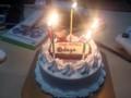 いちご荘で@doga誕生祝い!