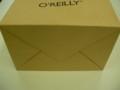 @hiboma いまさらオーライリーの紙袋発見した!底には何も書いてなかっ