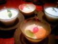 [かじ][外食]もゆ先生セレクトのデザート各種