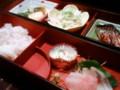 [かじ][外食]和食!これに天ぷらもつくよ。