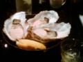 [かじ][外食]北海道厚岸産生牡蠣3つはいりまーす
