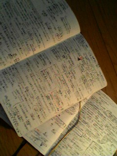 二冊の手帳。