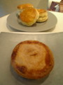 アップルパイとスコーン!美味しそう…☆(*´▽`*)ノ
