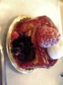 @lonely_man ベリーのケーキ!