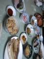 今日の宿飯:毛蟹、ホッケの開き、ホタテご飯、ソイの昆布締め、サン