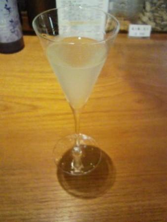 白い日本酒スバークリング
