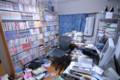 書斎というか、物置というか