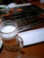 昼間から揚げて飲んでるます。