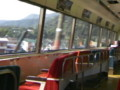 伊豆急行黒船列車 海側の展望に特化してる