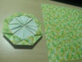 再起動している合間に。折り紙